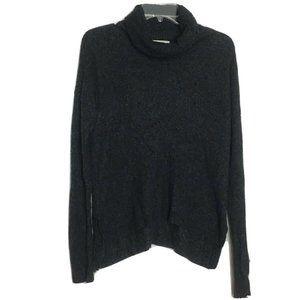 Madewell Cowl Neck Alpaca Wool Long Sleeve Blouse